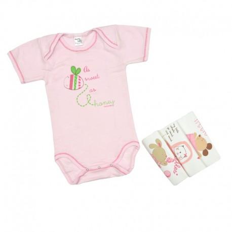 Pretty baby 34495 ζιπουνάκια 4 τμχ. κοντομάνικα