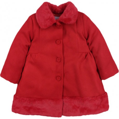 Ebita 199268 Παλτό Κόκκινο