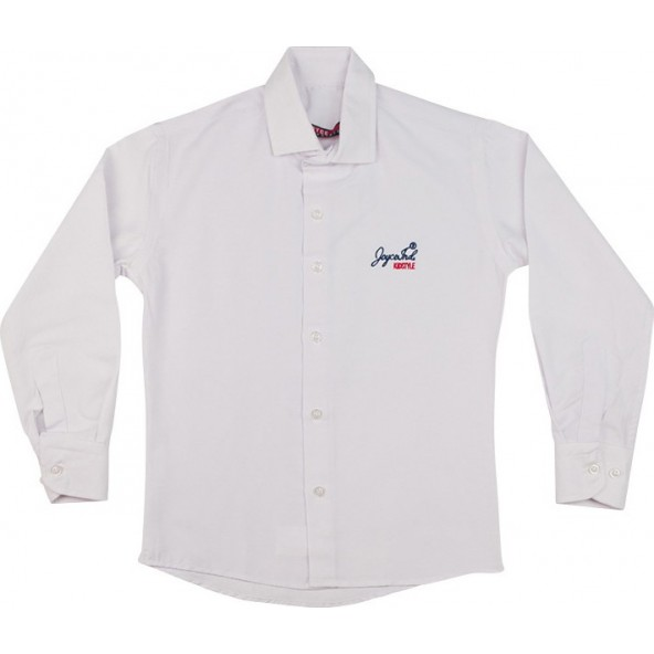 Joyce 40003/2 Πουκάμισο λευκό
