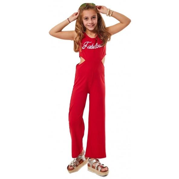 Εβιτα 202092 Ολόσωμη φόρμα κόκκινη