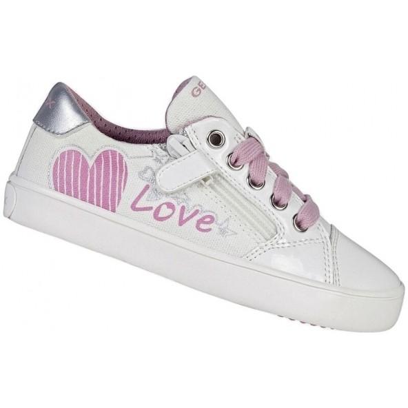 GEOX J GISLI G. B - CANVAS+GBK PAT J024NB 01002 C0406 Sneakers