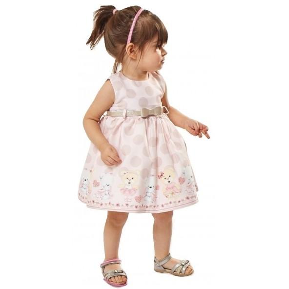 Εβιτα 202502 Φόρεμα ροζ