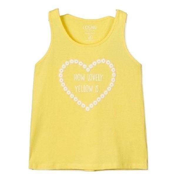 Losan 014-1301AL Μπλούζα Κίτρινο