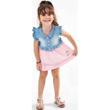 Ebita 202286 Φόρεμα Ροζ