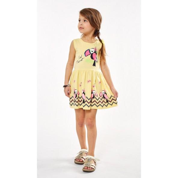 Ebita 202306 Φόρεμα κίτρινο