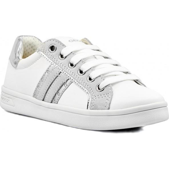 Geox ΑΝΑΤΟΜΙΚΑ J024MG 05422 C0007 Λευκό Sneaker