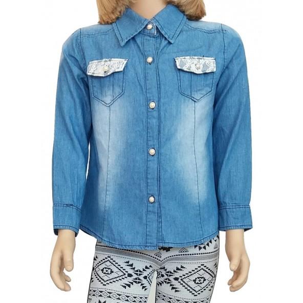 Εβιτα 174006 πουκάμισο τζιν