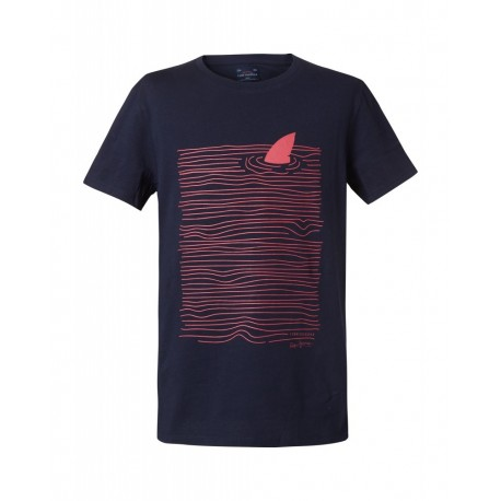Funky Buddha FBB00131104 T-shirt Μπλε navy