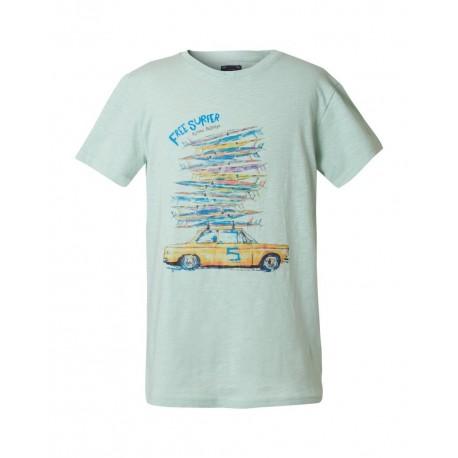 Funky Buddha FBB00130404 T-shirt Φυστικί