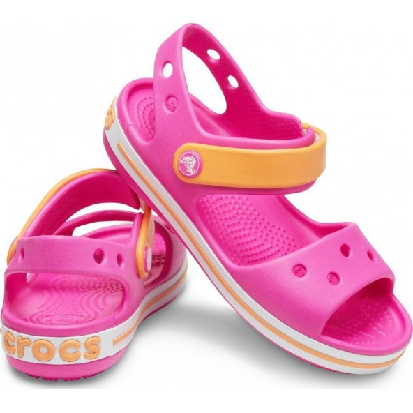 Crocs Crocband Sandal 12856-6QZ Παιδικά πέδιλα Φουξ