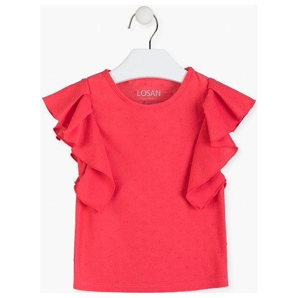 Losan 016-1020AL Μπλούζα Κοραλί