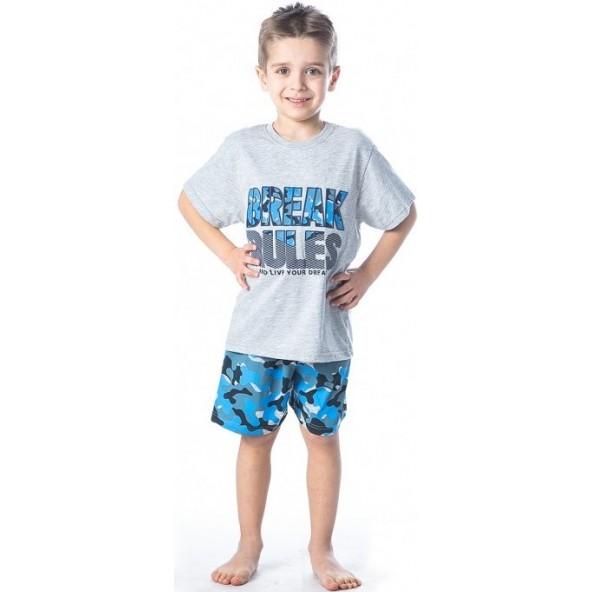 Dreams 201959 Πυτζάμες Γκρι/Μπλε