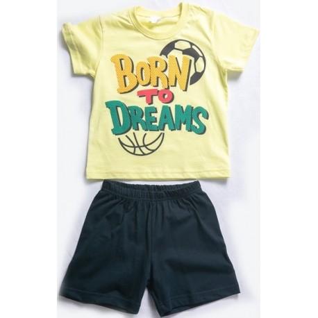 Dreams 201853 Πυτζάμες Κίτρινο