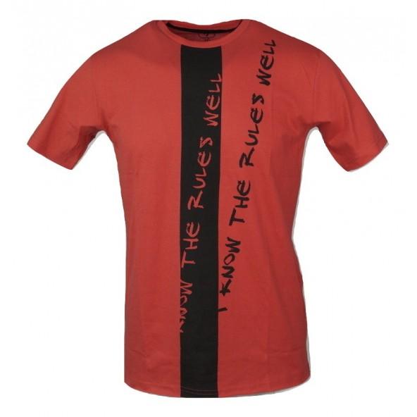 Rebel 650 Μπλούζα Κοντομάνικη Κόκκινο
