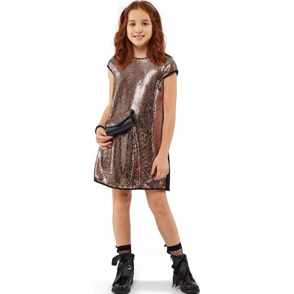 Εβίτα 203073 Φόρεμα με Τσαντάκι