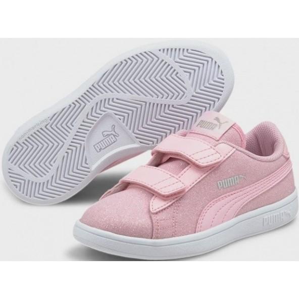 Puma 367978-21 Smash V2 Glitz Glam Sneakers