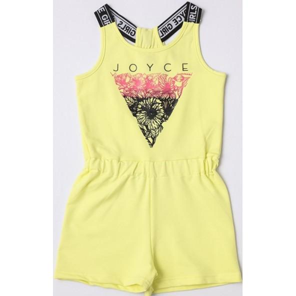 Joyce 211583 Ολόσωμο Σορτς Κίτρινο