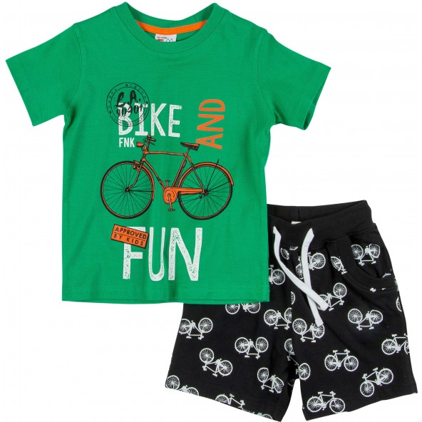 For Funky Kids 121-301109-2 Σετ Βερμούδα