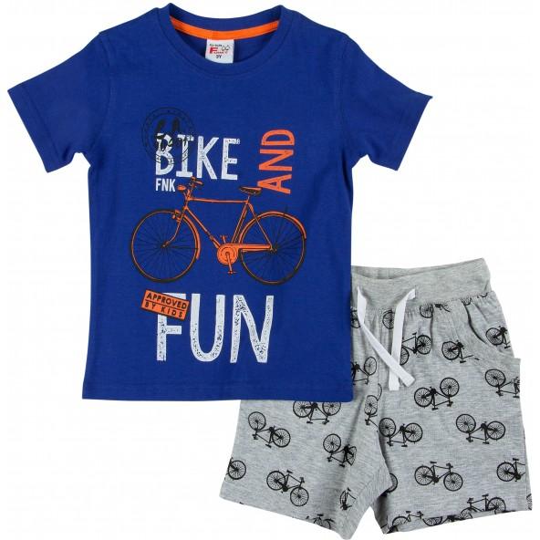 For Funky Kids 121-301109-1 Σετ Βερμούδα