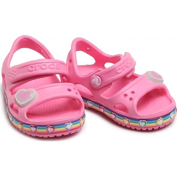 Crocs 206795-669 Fun Lab Rainbow Sandal K