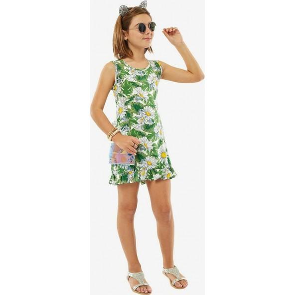 Ebita 214107 Φόρεμα Πράσινο