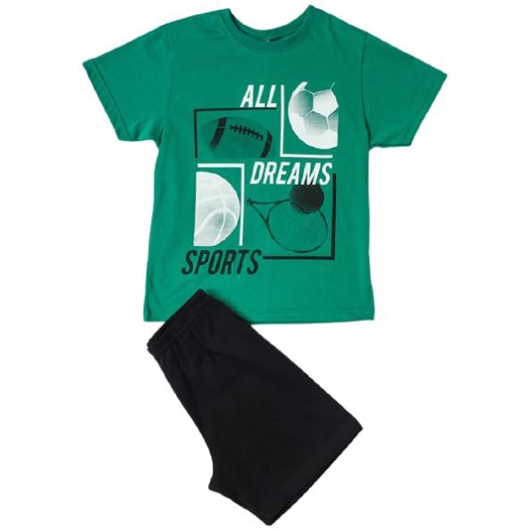 Dreams 212700 Πυτζάμες Πράσινο