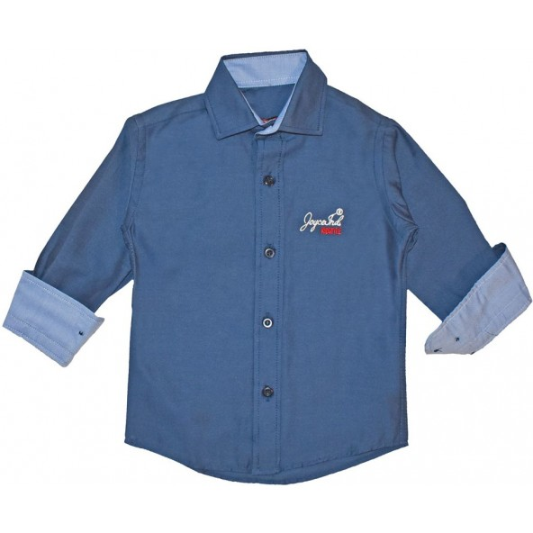 Joyce 204235/1 Πουκάμισο Μπλε Navy