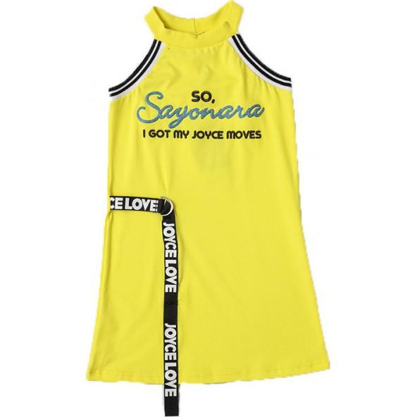 Joyce 211565 Φόρεμα Κίτρινο