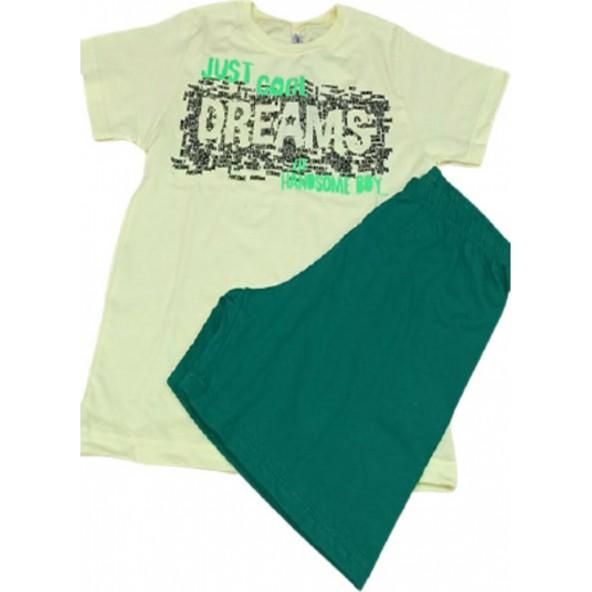 Dreams 212707 Πυτζάμες Κίτρινο