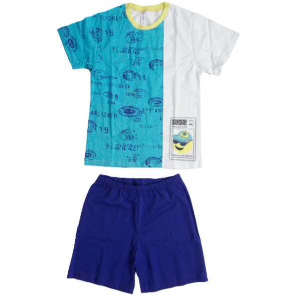 Dreams 14301 Πυτζάμες Γαλάζιο