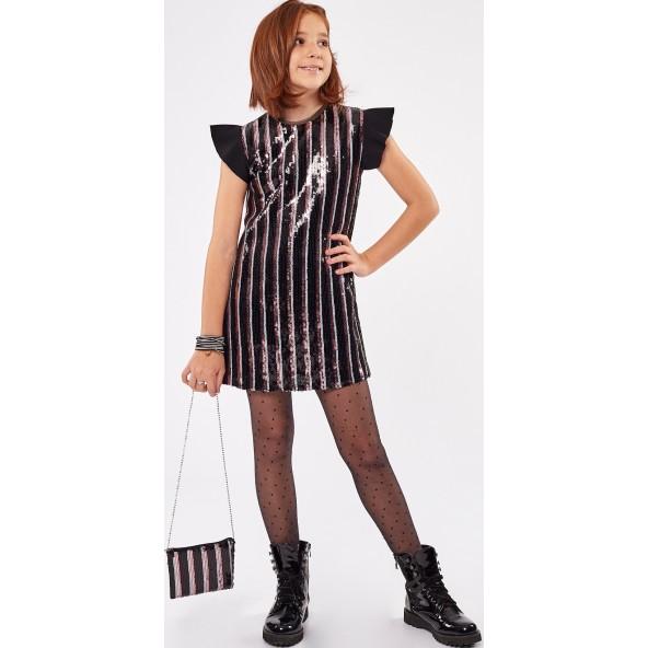 Εβίτα 215032 Φόρεμα με τσαντάκι