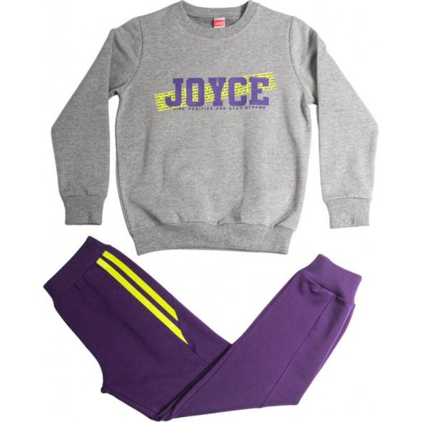 Joyce 216519 Σετ Φόρμα Γκρι