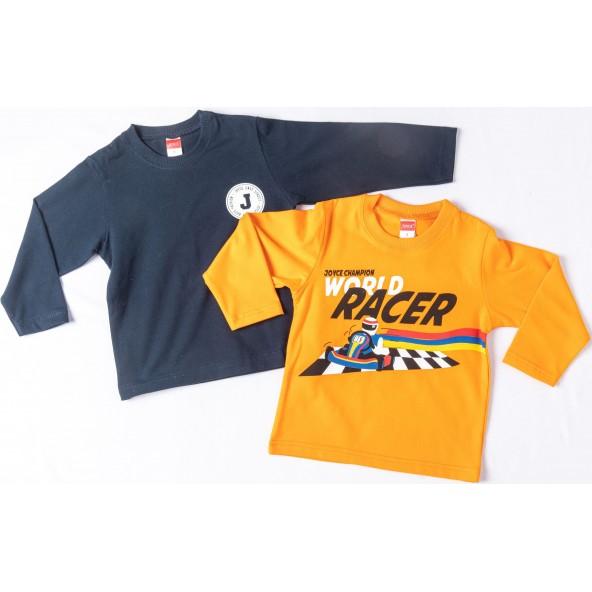 Joyce 216361 Σετ Μπλούζες Πορτοκαλί