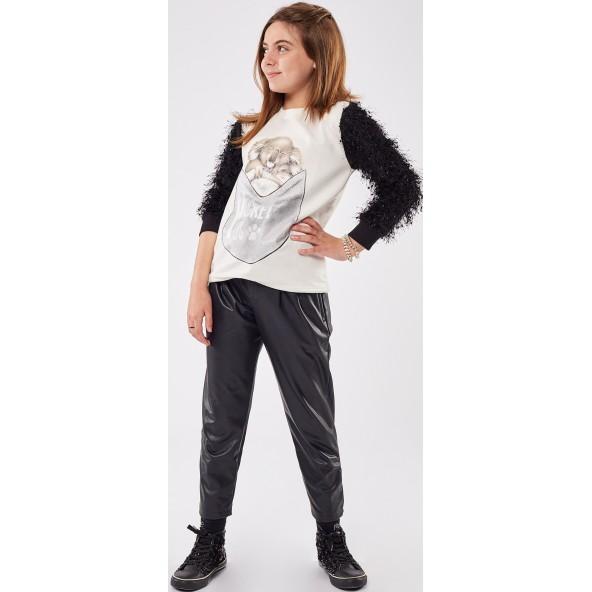 Εβίτα 215014 Παντελόνι Μαύρο