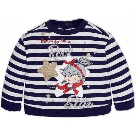 Mayoral 2455 Μπλουζάκι φούτερ κορίτσι
