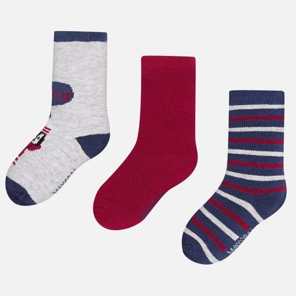 Mayoral 10217 Σετ 3 ζεύγη κάλτσες
